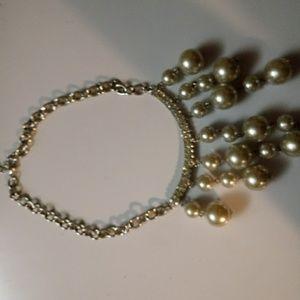 Choker length necklace